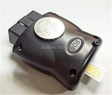 TLT-8B UBLOX 7 OBDII OBD 2 Del GPS Del Vehículo tracker con geo-cerca, alarma De velocidad, alarma de Vibración, soporte TCP/UDP protocal