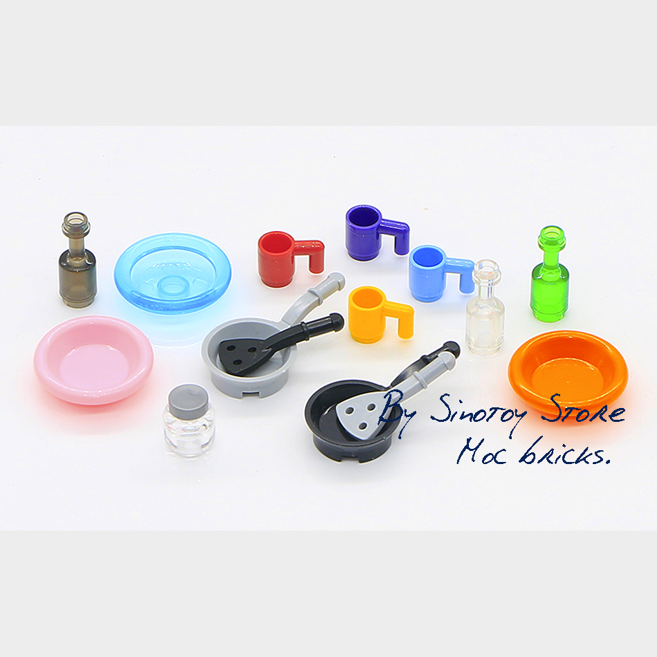 Toys, Accessories, Building, Plate, MOC, Cup