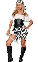 Lüks Cadılar Bayramı korsan kostümleri üniforma Deluxe Korsan Kostüm Ücretsiz kargo Korsan kostümleri yetişkin womeninstyles