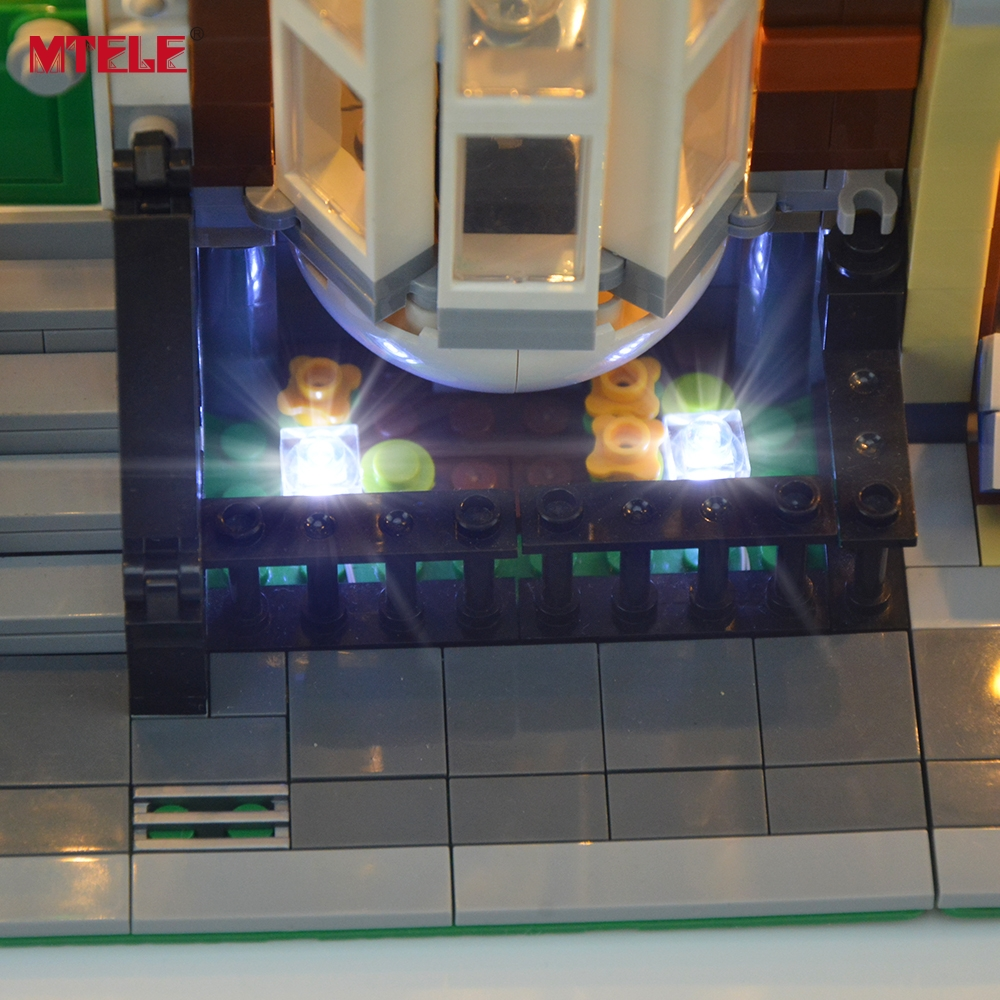 MTELE Merek LED Light Up Kit Untuk Pet Shop Supermarket Cahaya Set - Mainan bangunan dan konstruksi - Foto 5