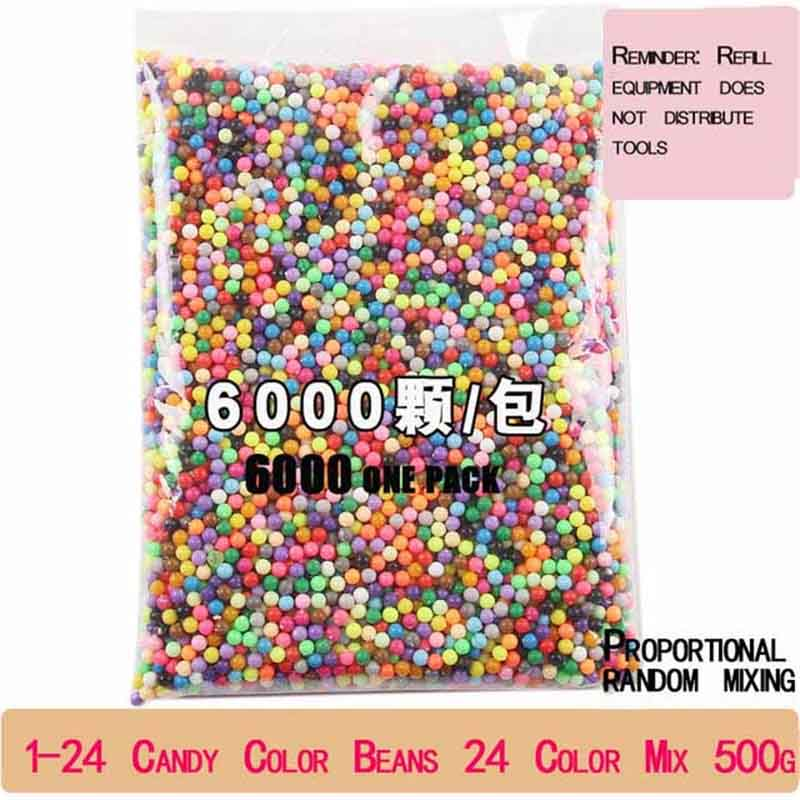 6000 Stks/set DIY Waternevel Magic Kralen Handleiding 3D Beads 5mm Hama Kralen 500g Groothandel Beads Kralen
