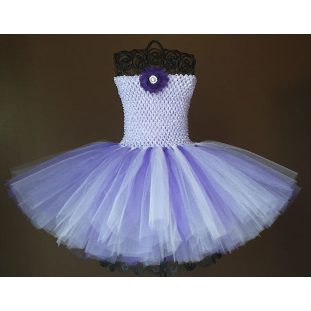Lavender purple and lilac Tutu Dress baby tutu dress
