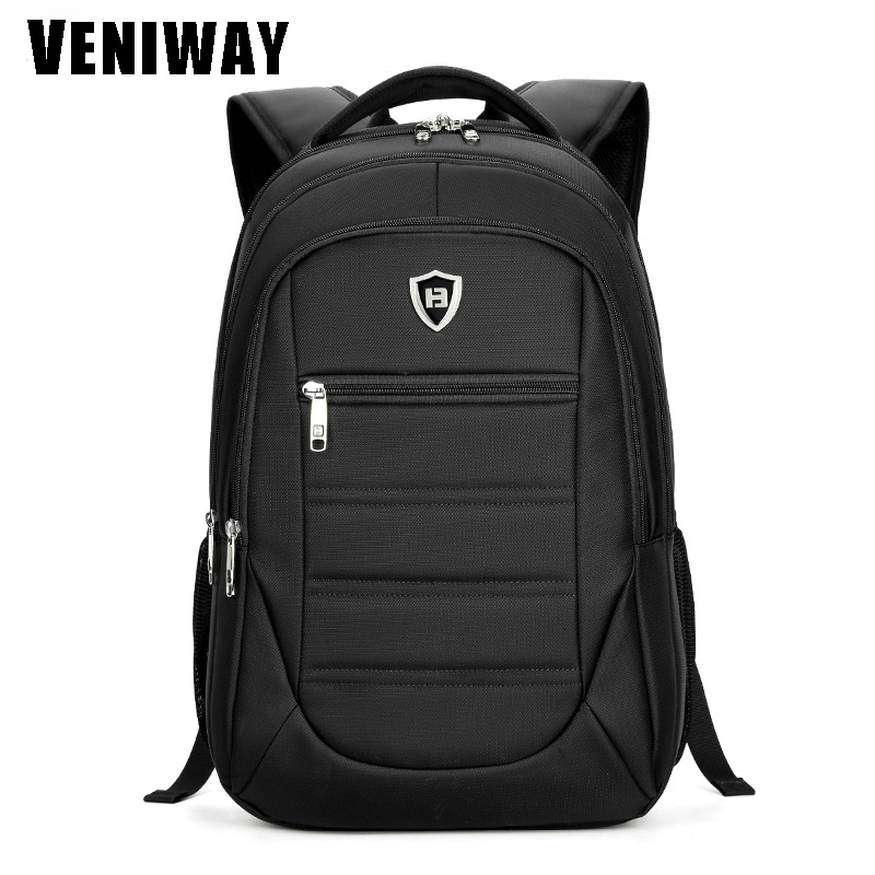VENIWAY Men Business Backpack Brand High Quality Computer Laptop Bag Oxford Male Travel Backpack Man Large Capacity School Bag ruil 2017 high capacity backpack men s travel durable schoolbag laptop large capacity computer bag