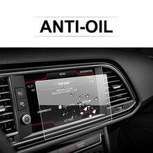RUIYA Auto Screen Protector Für Leon X Perience 8 Zoll 2017 GPS Navigation Touch Zentrum Display Auto Innen Aufkleber zubehör