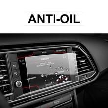 RUIYA 자동차 화면 보호기 레온 X Perience 8 인치 2017 GPS 네비게이션 터치 센터 디스플레이 자동 인테리어 스티커 액세서리