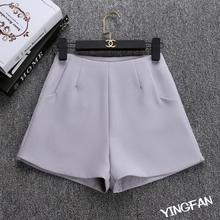 2019 New Summer hot Fashion New Women Shorts Skirts High Waist Casual Suit Shorts Black White Women Short Pants Ladies Shorts