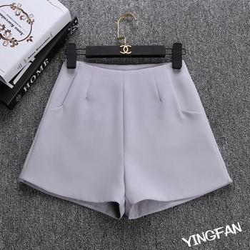 2019 New Summer hot Fashion New Women Shorts Skirts High Waist Casual Suit Shorts Black White Women Short Pants Ladies Shorts 2