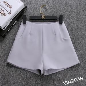 Image 2 - 2020 New Summer hot Fashion New Women Shorts Skirts High Waist Casual Suit Shorts Black White Women Short Pants Ladies Shorts