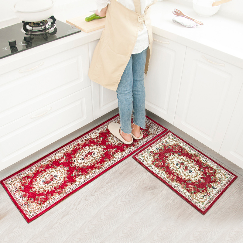 Kitchen Rug or Mats Kitchen Runner Anti slip Modern Area ...