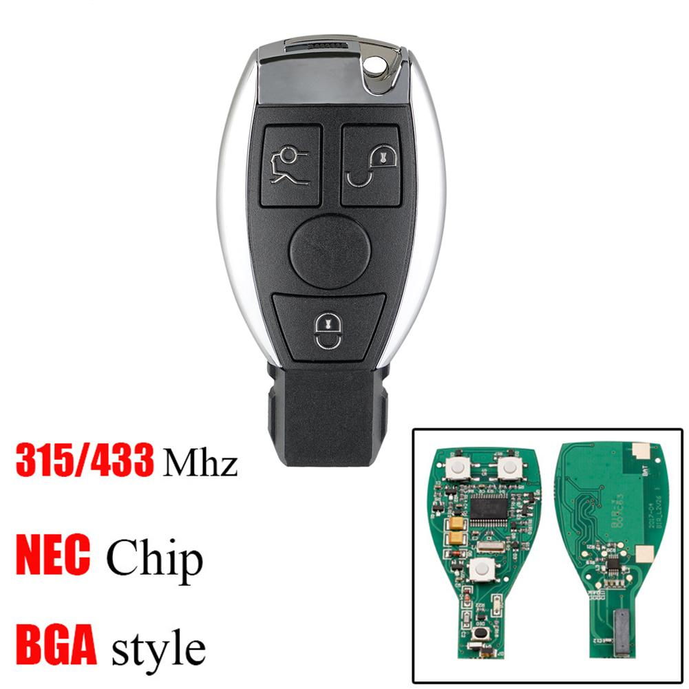 BGA style with Chip 3+1 Button 315MHz Smart Remote Key for Mercedes-Benz 2000