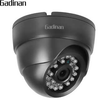 GADINAN 720P 960P 1080P IP Camera ONVIF Surveillance CCTV Dome 2.8mm Wide Angle Motion Detection RTSP Email Alert XMEye 48V POE - DISCOUNT ITEM  44% OFF All Category