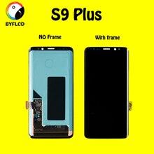 العلامة التجارية الجديدة الأصلي شاشات lcd لسامسونج S9 plus الشاشة في الهاتف المحمول G965F مع الإطار أو لا الإطار ل Samsang غالاكسي S9 + عرض