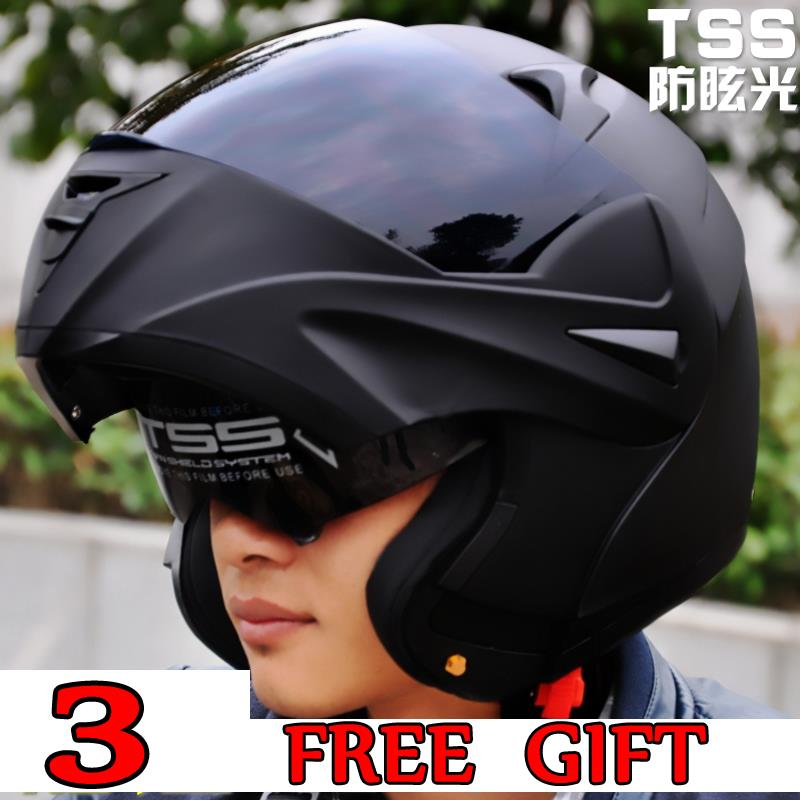 Promotion with inner sun visor flip up motorcycle font b helmet b font safety double lens