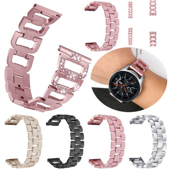 Susenstone 2018 Watchband Replacement Metal Crystal Watch Strap Wrist Band For Samsung Galaxy Watch (46mm) Hot sale メンズ 時計 ゼニス