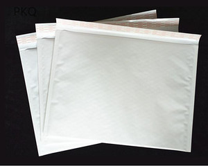 Image 5 - 100pcs/lot Wholesale Kraft Bubble Mailers Padded Envelopes Packaging Shipping Bags White Bubble Mailing Envelope Bags