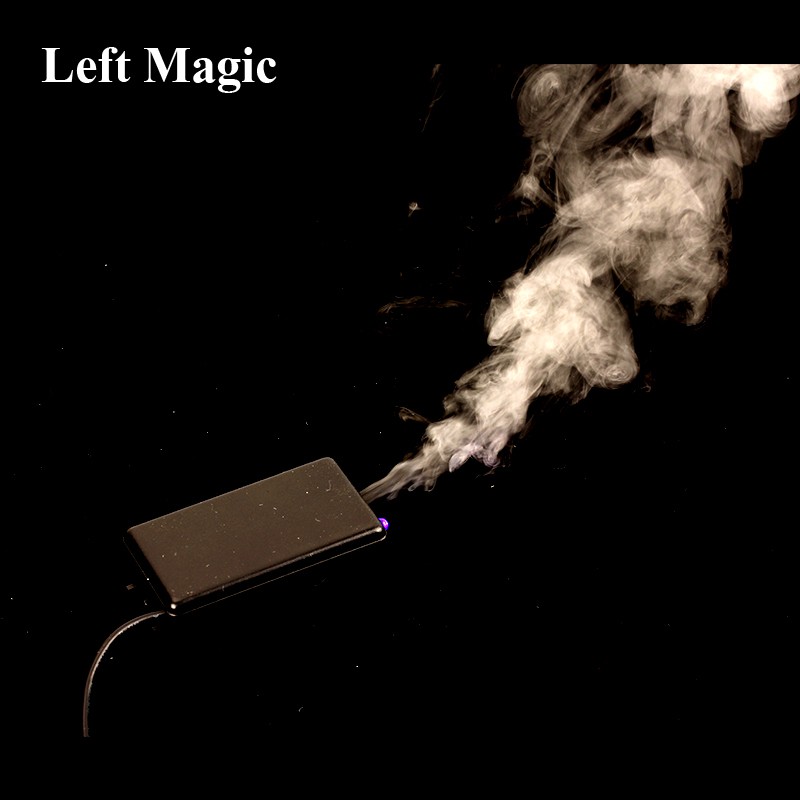 Flash Mini Arm Control Smoke Device ( Gimmick+Online Teaching ) Charge Magic Tricks Magic Props Mentalism Close Up Street Magic