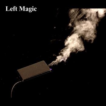 Flash Mini Arm Steuerung Rauch Gerät (Gimmick  Online Lehre) ladung Magie Tricks Magie Requisiten Mentalismus Close Up Street Magic