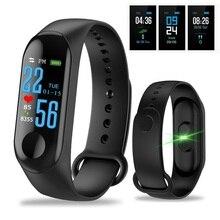 M3 Smart Watch Color IPS Screen Smart Sport Fitness Bracelet Blood Pressure Acti