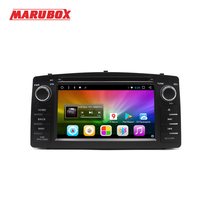 Marubox 6A900DT8 Android 8 1 Octa Core for Toyota Corolla E120 2003 2006 Car DVD GPS