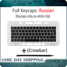 Laptop A1989 A1990 Keycaps Chaves chave Cap Rússia RU Teclado Russo para Apple Macbook Pro Retina 13