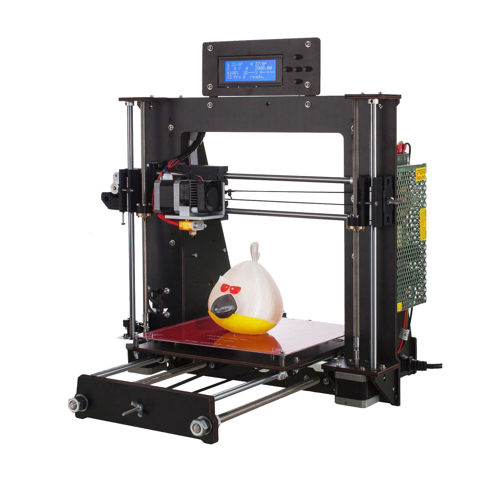 3D Printer with Power Failure Resume Printing and LCD Screen for High Precision Printing