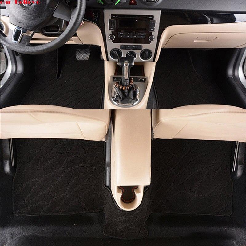 Car Believe Auto car floor Foot mat For jaguar xf xj F-PACE XJL F-TYPE XK XFL XEL car accessories waterproof styling коврики для автомобиля skawa xf xjl xk