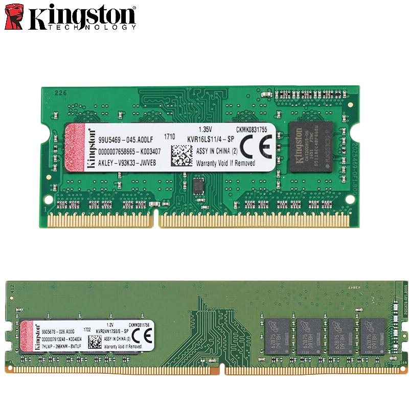 Kingston PC Memory RAM <font><b>Memoria</b></font> for Desktop 2GB PC2 DDR2 <font><b>4GB</b></font> <font><b>DDR3</b></font> 8GB DDR4 16GB 2400MHZ 800MHZ 1600MHZ 2666MHZ RAM image