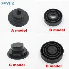 FSYLX 1x HID светодиодный пылезащитный чехол для фар резиновая Водонепроницаемая уплотнительная прокладка для фар автомобиля аксессуары для мотоциклов H1 H7 H4 H11 9005/6