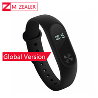 Global Version Xiaomi Mi Band 2 Miband Mi Band2 Wristband Bracelet Smart Heart Rate Monitor Fitness Tracker Touchpad OLED Strap