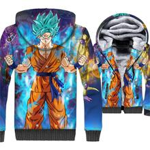3D Hoody Streetwear 2018 Autumn Winter Jackets Men Anime Sweatshirt Hip Hop Mens Hoodies Dragon Ball Z Swag Sweatshirts Male