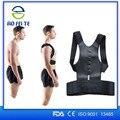 Hombres Mujeres Corsé Correctiva magnética Corrector de Postura Volver Corrector de Postura Cinturón para la Espalda Chaleco Ortopédico Babaka B001