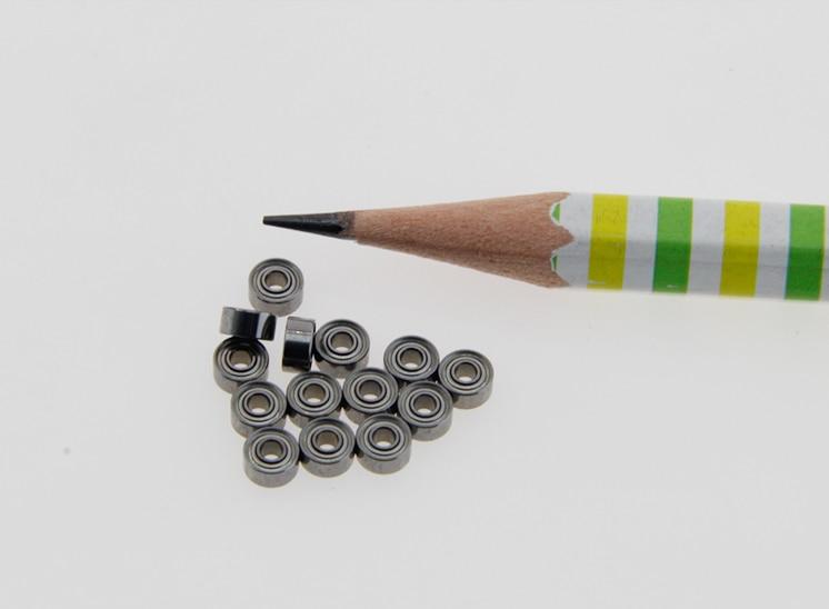 10PCS/lot  MR52/62/63/72/73/74ZZ Mini Bearings 2x5x2.5 2x6x2.5 3x6x2.5 2x7x3 3x7x2.5 4x7x2.5mm Model Guide Wheel Motor Bearings