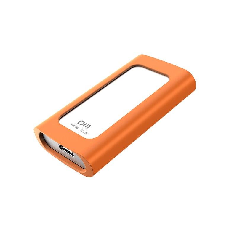 Disque dur externe DM SSD 256GB SSD 512GB disque dur externe Portable SSD hdd pour ordinateur Portable avec USB 3.1 de Type C - 3