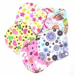 6*6 дюймов многоразовая моющаяся Бамбуковая ткань гигиена во время менструального цикла для беременных подложки из микрофибры
