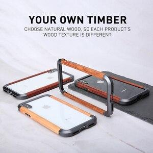 Image 4 - Ốp Lưng Điện Thoại Iphone 11 11 Pro 11 Pro Max Cao Cấp Kim Loại Cứng Nhôm Gỗ Ốp Lưng Bảo Vệ Ốp Lưng Điện Thoại iPhone XS X