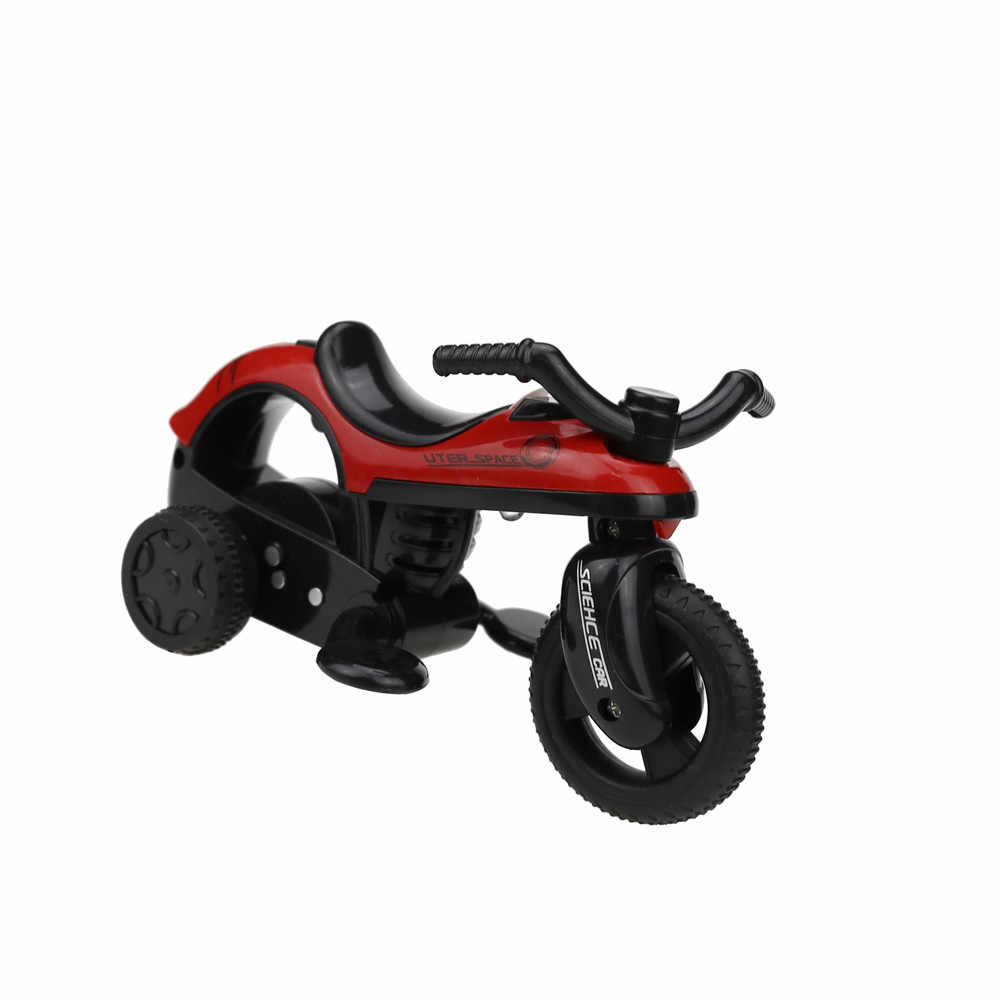 1 Pcs kinderen Educatief Speelgoed motor fiets auto miniatuur toyl Trek Motorfiets Grote Wiel Voertuig Speelgoed kinderen gift