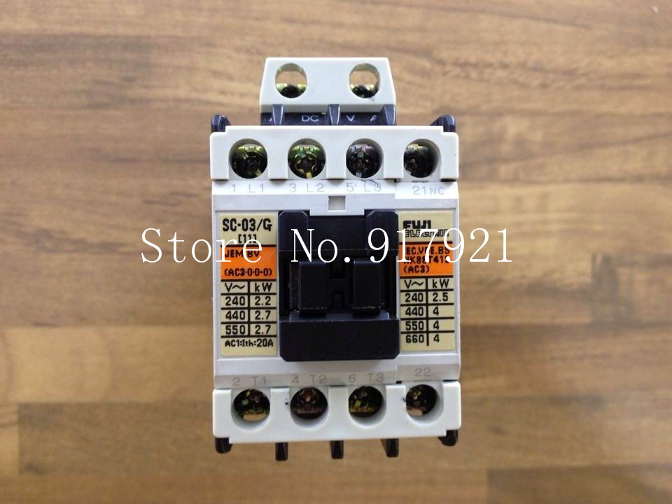 [ZOB] Japan Fuji Fe SC-03/G DC24V DC contactor 3NO+1NC elevator (original authentic)  --2pcs/lot