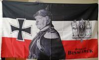 Германия Отто фон Бисмарк ФЛАГ 150X90 см (3x5FT) 100% полиэстер оригинальный баннер флаг