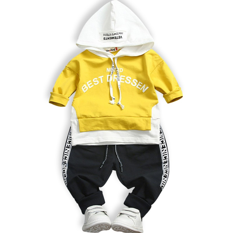 2018 New Autumn Boy's Girl's Clothing Sets Sport Pullover Set Fashion Kid 2pic Suits Set Toddler Striped Tracksuit