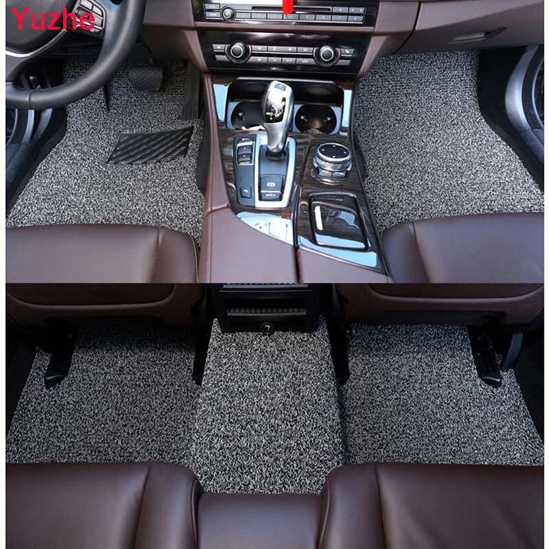 Yuzhe Custom Auto car floor Foot mats for Audi A6L R8 Q3 Q5 Q7 S4 RS TT A1 A2 A3 A4 A5 A6 A7 3D car accessories car styling
