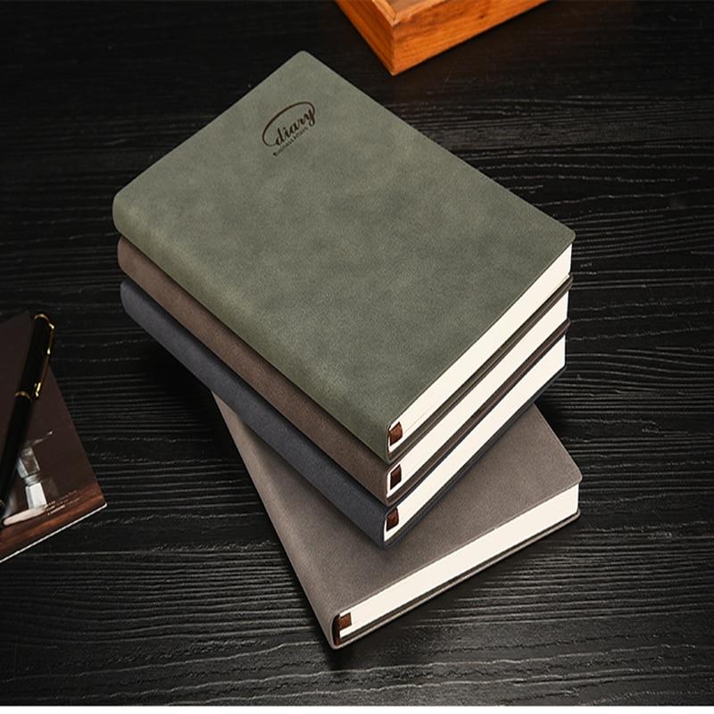Clasic hardcover birou birou de birou scolare, notebook fin - Blocnotesuri și registre - Fotografie 5