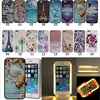 EDWO New Case For Apple Iphone 5 5S SE Glowing LED Light Up For Taking Bright