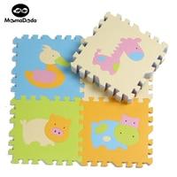 9pcs Foam Material Floor Mat For Nursery School Mat Baby Game Mat Cushion Cartoon Antibacterial Kid