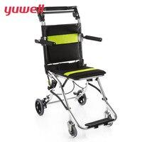 Yuwell H2000 коляске спинка Портативный легкие коляски Применение для детей пожилых инвалидов Спецодежда медицинская коляска