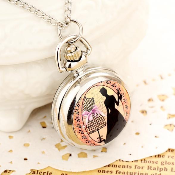 Часы наручные кварцевые в старинном стиле для мужчин и женщин