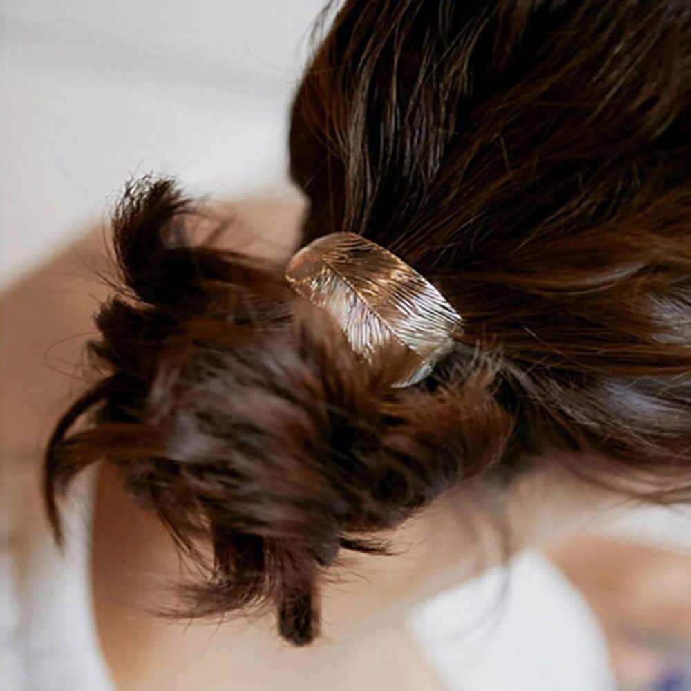 1PC แฟชั่นผู้หญิงเซ็กซี่ Lady Leaf ผมเชือก Headband ผู้ถือหางม้ายืดหยุ่นพรรควันหยุด Hairband อุปกรณ์เสริมผม