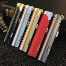 New Strip Jet Butane Cigar Lighter Torch Turbo Pipe Lighter Cigarette 1300 C Fire Windproof No GAS