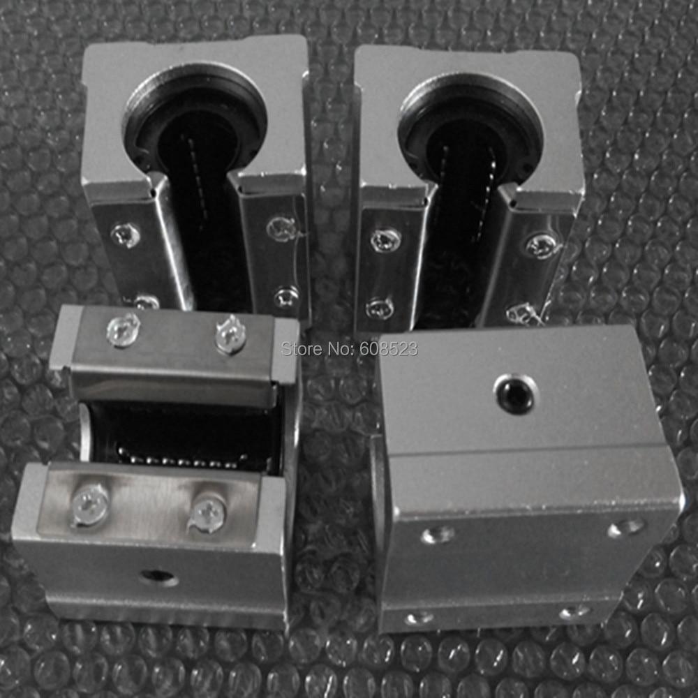 Free shipping HLTNC SBR10/SBR12/SBR16/SB20 Linear Bearing 10mm 12mm 16mm 20mm Slide CNC parts linear slide for linear guide free shipping 900mm travel aluminium motorized linear slide for cnc machine