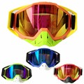 (1pc&4colors) Brand 100% Racing motorcycle Goggles Motocross ATV Lunette Motorcycle Glasses Rainbow Lens