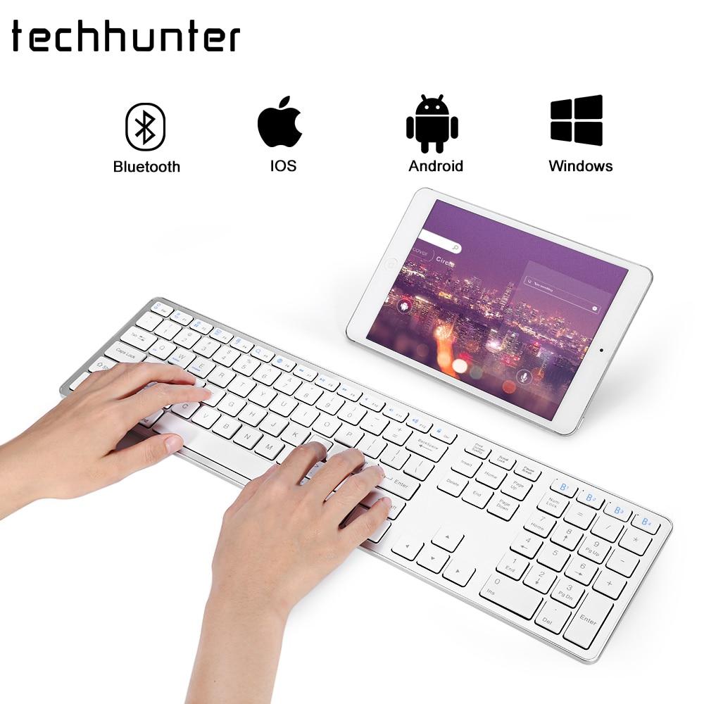 Bluetooth Keyboard Apple Android: Aliexpress.com : Buy BK418 Wireless Bluetooth Keyboard Ultra Slim White For APPLE IOS Ipad